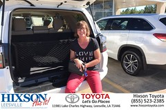 #HappyBirthday to Lisa from Kevin Marie Grossinger at Hixson Toyota of Leesville!