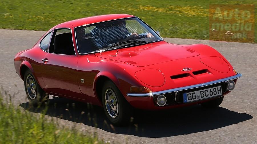 Opel GT istorija 1