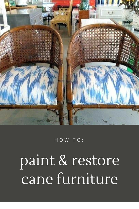 paint & restore cane furniture