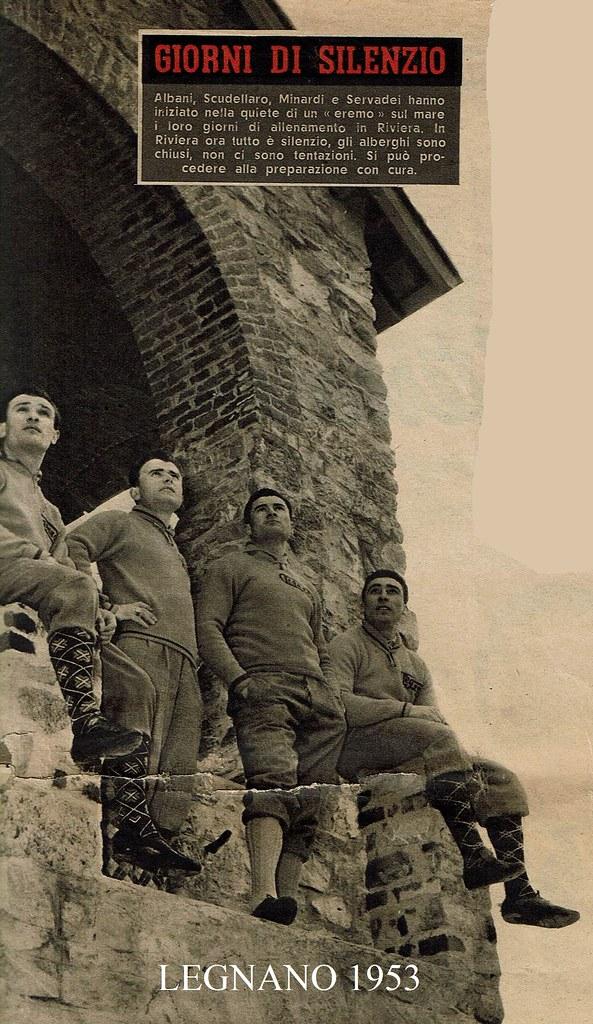 Legnano 1953 (foto inviata dal figlio Marco)