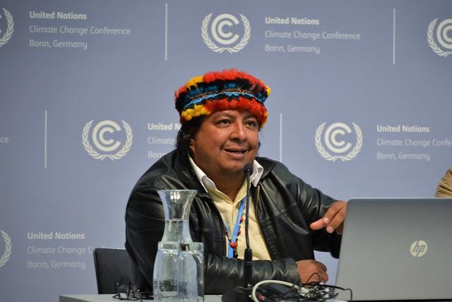 COICA (Conferencia de prensa) 2mayo2018 - Rafael Ponte / Servindi