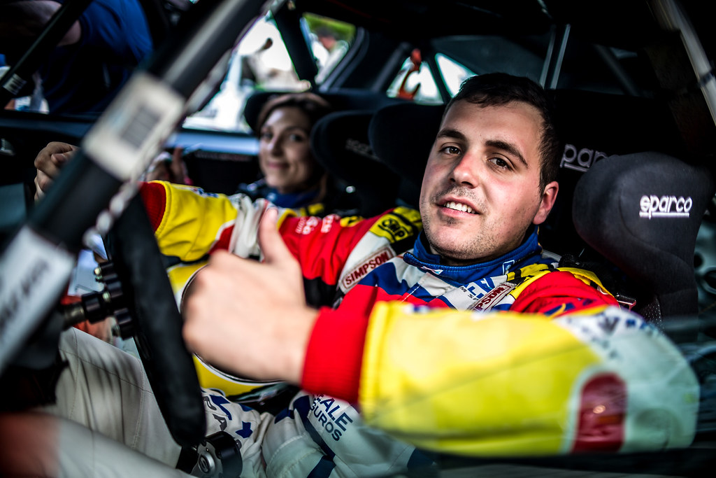 LLARENA Efren, FERNANDEZ Sara, Team rallye spain, Peugeot 208 R2, portrait during the 2018 European Rally Championship ERC Rally Islas Canarias, El Corte Inglés,  from May 3 to 5, at Las Palmas, Spain - Photo Thomas Fenetre / DPPI