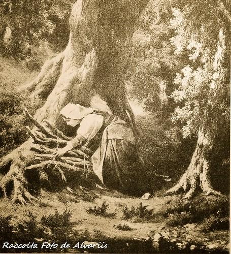 1863 ca Donna nella macchia di Cervara di Achille Vertunni b