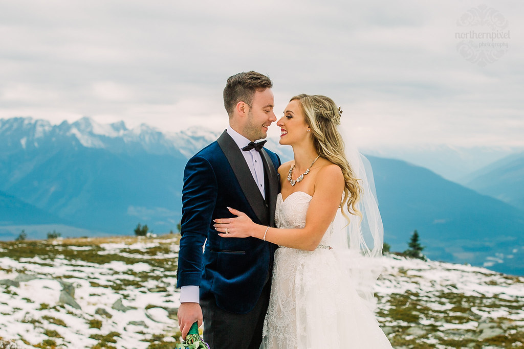Vanessa & Nathan's Mountaintop Wedding