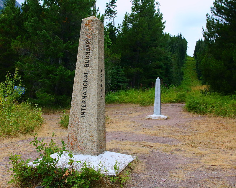 IMG_6524 US Canada Border Monuments, Waterton Glacier International Peace Park