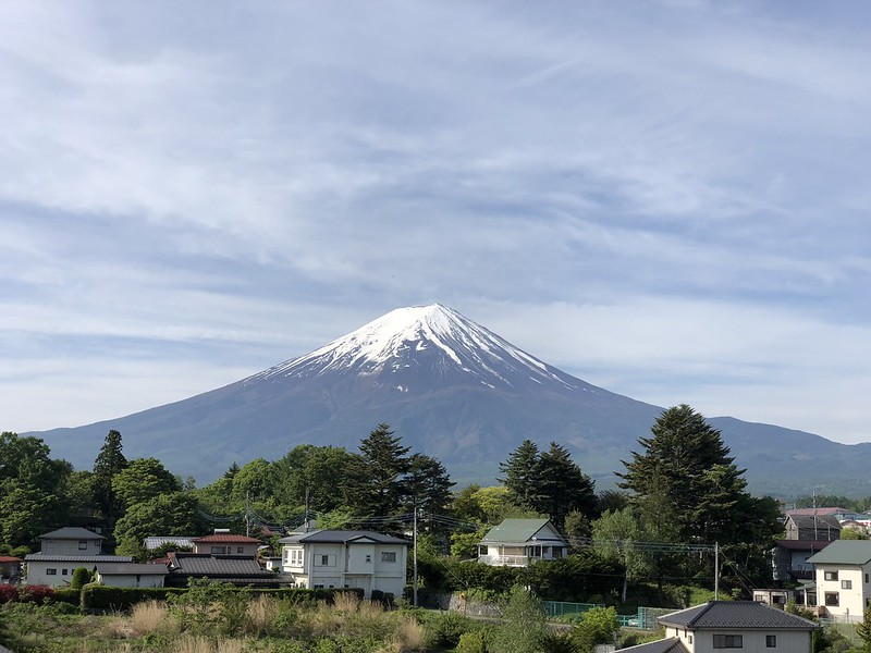 iPhone X - 2x Optical Zoom - Mount Fuji