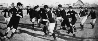 Intercolonial Rugby Union match - Queensland vs. New Zealand, 1907