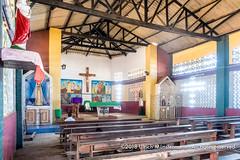 L'église de la paroisse St Joseph d'Agbodrafo, Togo