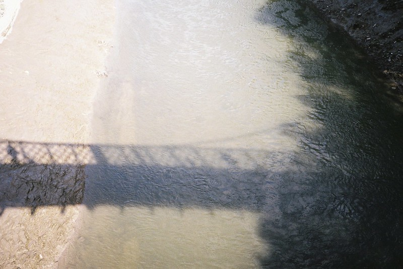 Gaol Ferry Bridge shadows