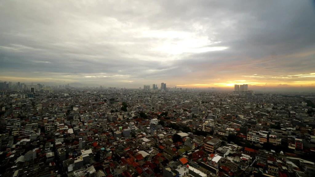 Sunset at Glodok, West Jakarta