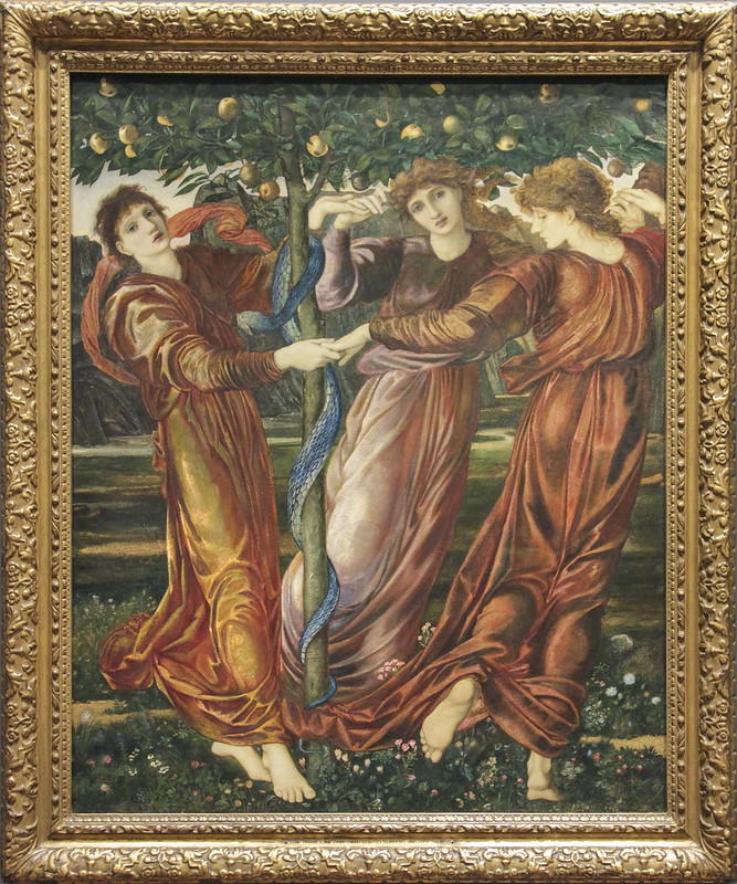 The Garden of the Hesperides, Edward Burne-Jones, 1869-73