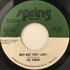 JOE SIMON:THEME FROM CLEOPATRA JONES(LABEL SIDE-B)