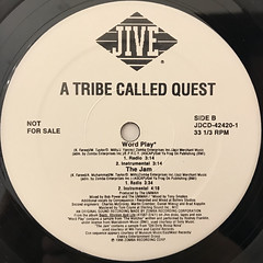 A TRIBE CALLED QUEST:STRESSED OUT(REMIX)(LABEL SIDE-B)