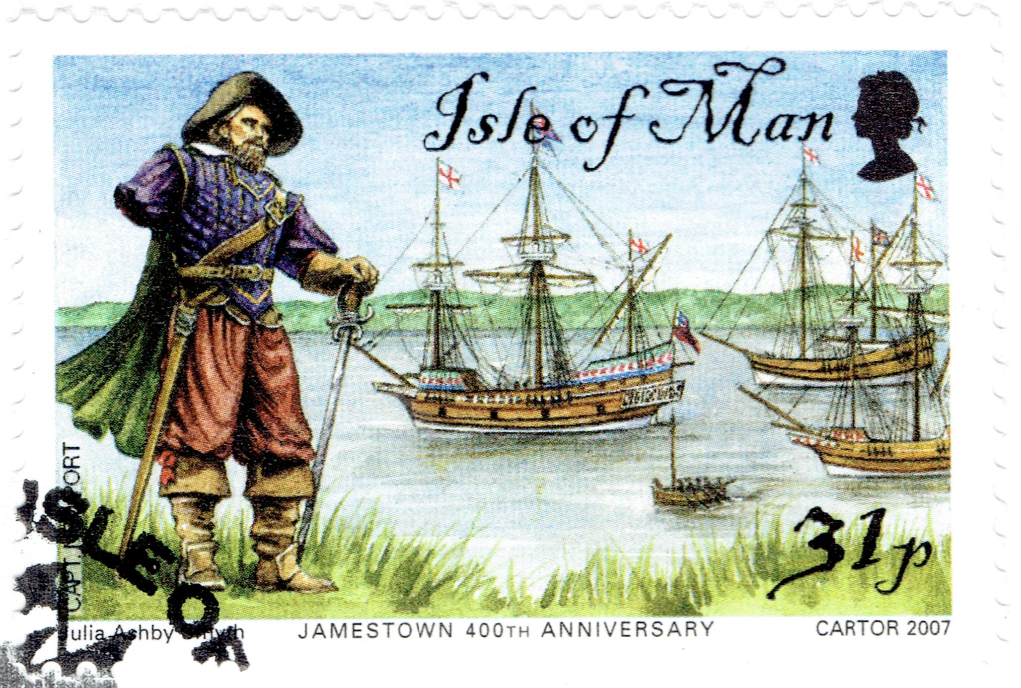 Isle of Man - Scott #1203 (2007)