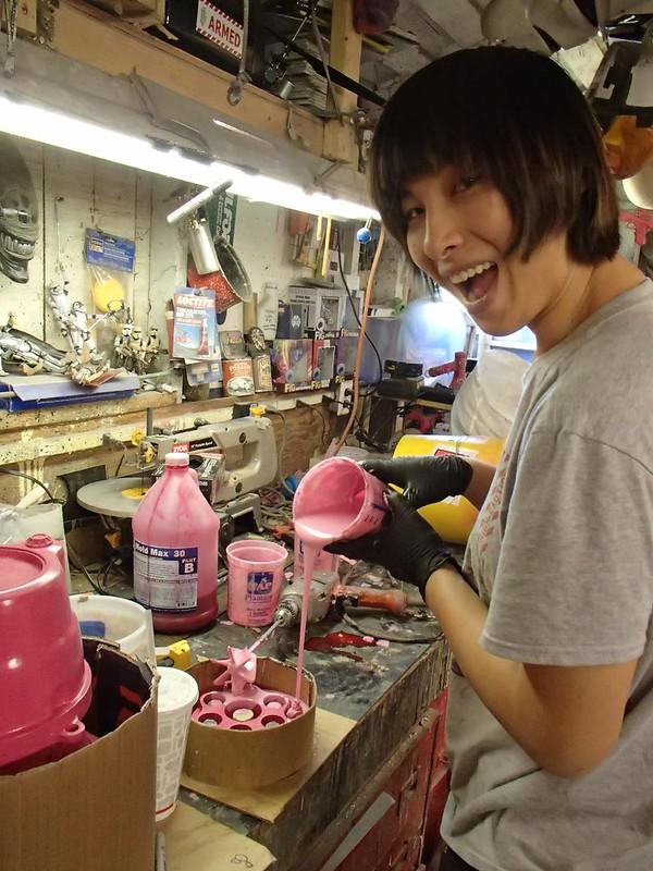 Danielle Pouring Rubber Block Molds