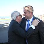 EU Leaders Arrive at Sofia Airport Ahead of the EU – Western Balkans Summit