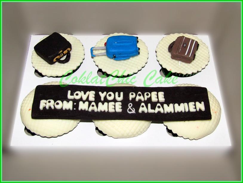 Cupcake set Koper PAPEE