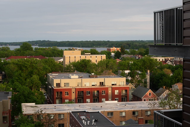 Neighborhood view from balcony