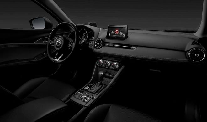 圖三:2019 MAZDA CX-3全車系標配EPB電子手煞車搭配嶄新內裝,兼顧設計質感與使用機能