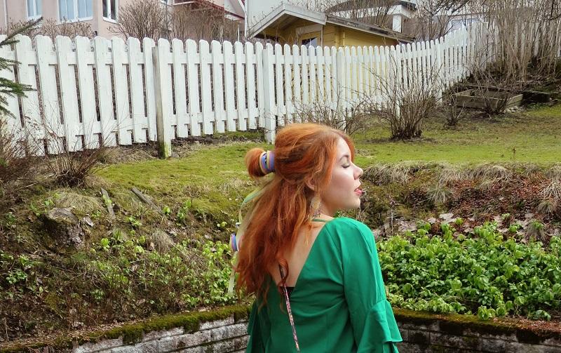 green dress 3