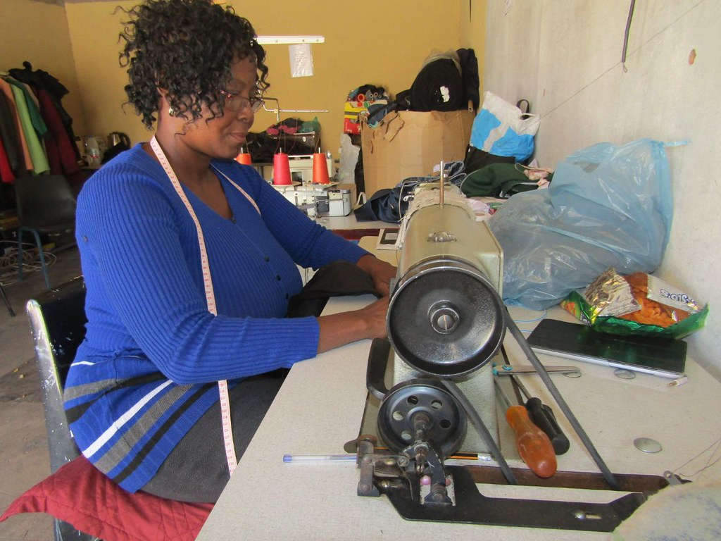Noupoort wind farm, South Africa supports local milliner business