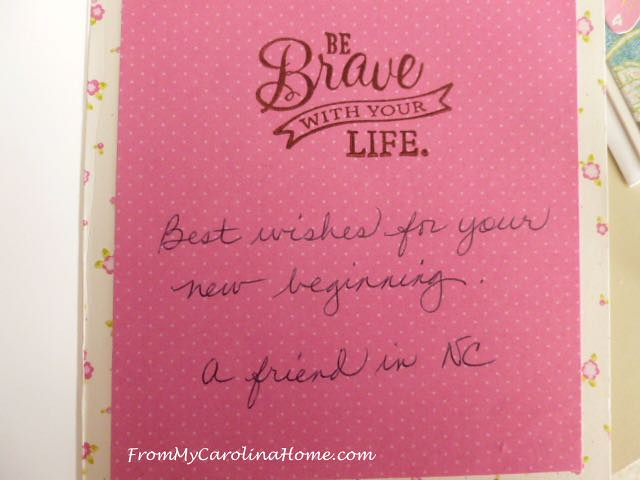 Rosemarie's Card at From My Carolina Home