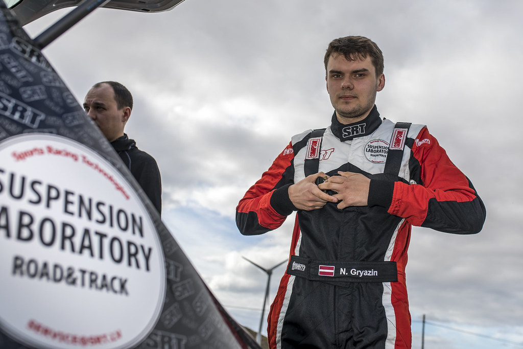 GRYAZIN Nikolay FEDOROV Yaroslav, Sports Racing Technologies, Skoda Fabia R5, portrait during the 2018 European Rally Championship ERC Rally Islas Canarias, El Corte Inglés,  from May 3 to 5, at Las Palmas, Spain - Photo Gregory Lenormand / DPPI
