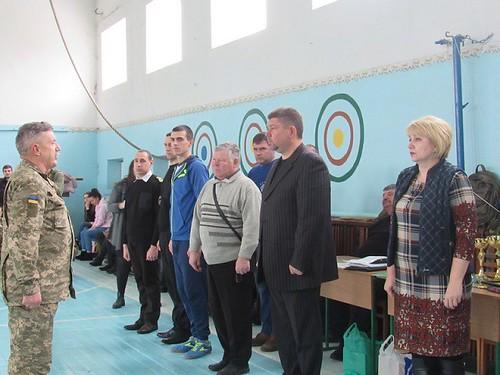 Військово-спортивні змагання «Нумо, хлопці!» у Заводському районі на базі ЗОШ №31