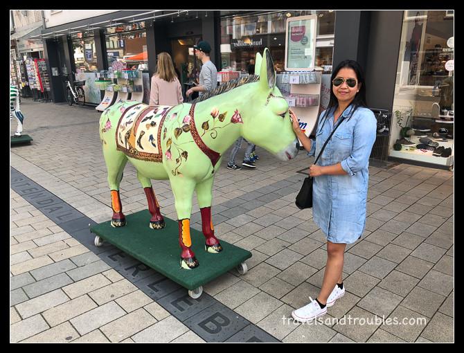 Een ezel in Wesel