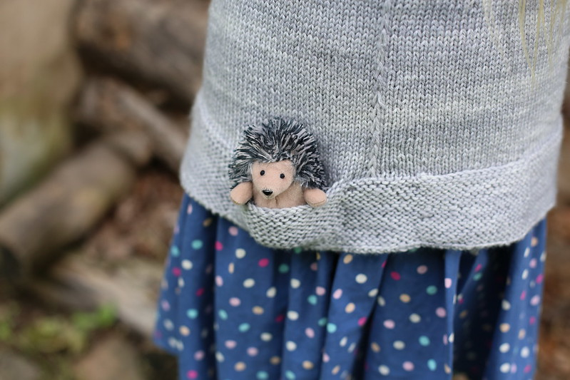 pockets perfect fpr her massive collection of hedgehogs