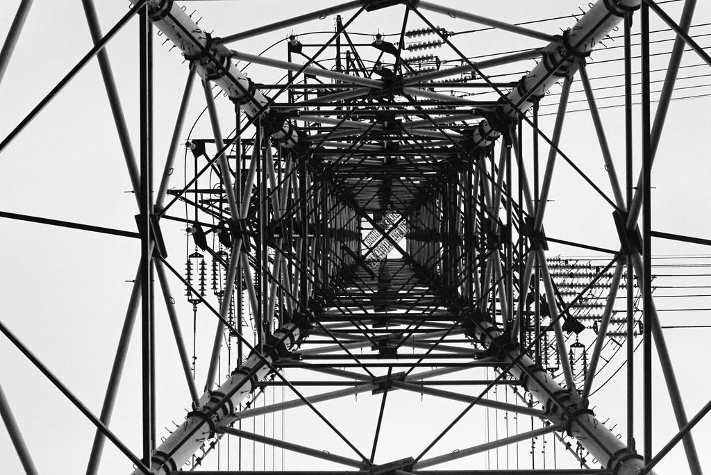 Geometric pattern of the pylon