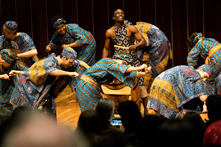 The West African Drumming Ensemble, November 28, 2016.