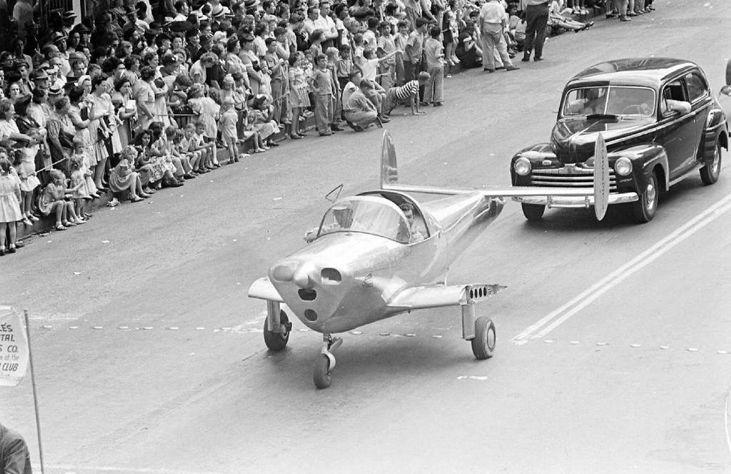 Ercoupe 415 (NC2037H), Houston - Texas - 1946 - Dmitri Kessel - LIFE
