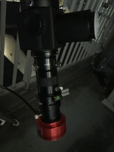 惑星撮影用のパーツ (2018/4/26)