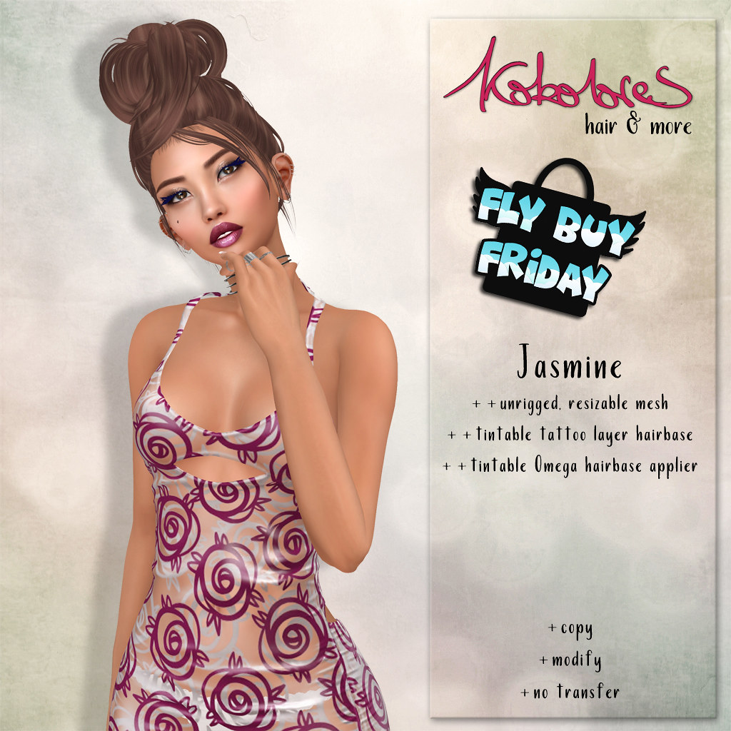 [KoKoLoReS] Hair Jasmine - FBF - TeleportHub.com Live!