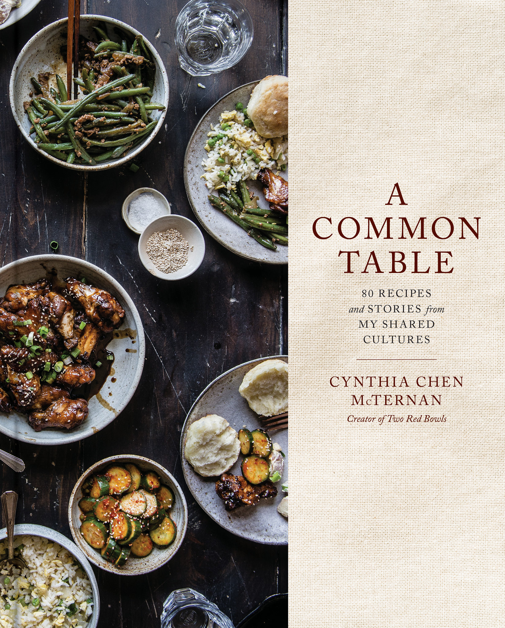 a common table cookbook: cover!