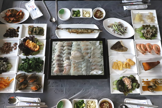 태안 바닷가가 주는 풍성한 음식들
