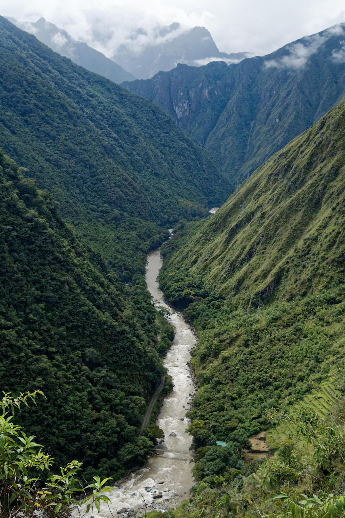 View along the Urubamba River
