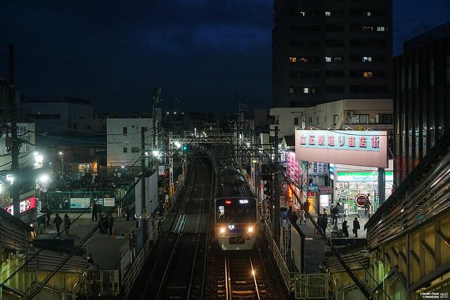 京成押上線 京成立石站