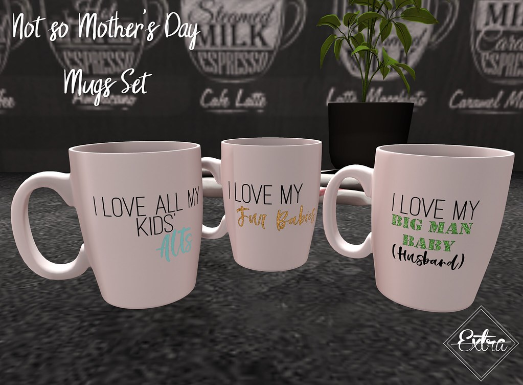 -Extra- Not So Mother's Day Mugs