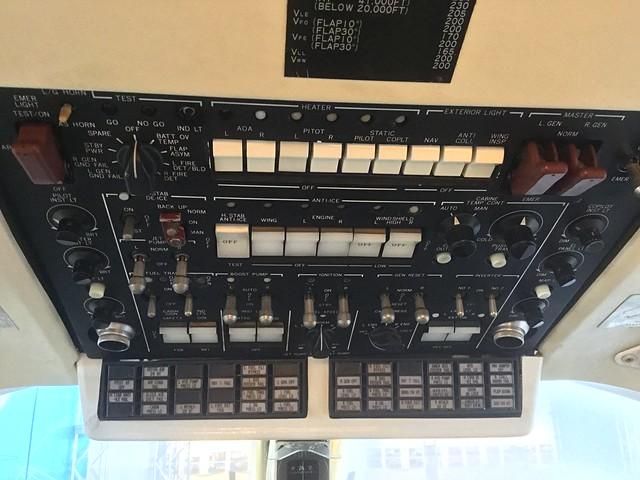 三菱 MU-300 JA8248 機内公開 コックピット 66F7A0308-0D9D-481E-B3BB-0DB59097E513