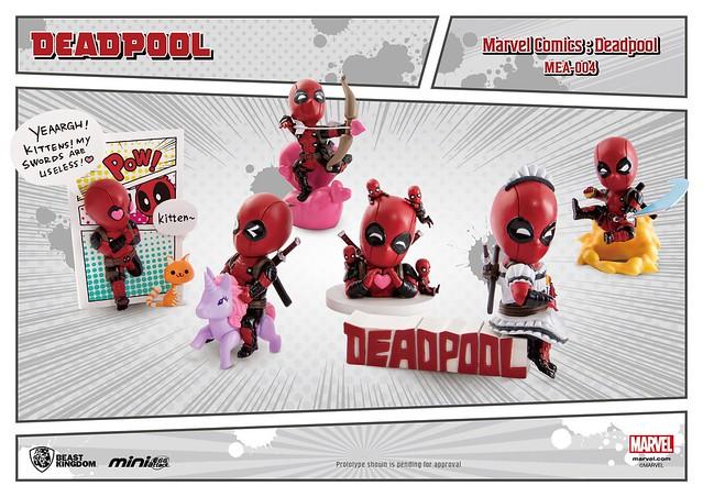 變身為女僕也很可以?!北爛死侍爆笑出擊~ 野獸國 Mini Egg Attack 系列【死侍(漫畫版)】Deadpool(Marvel comics)  MEA-004