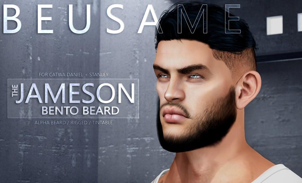 Bento Mesh beard @ MOM - TeleportHub.com Live!