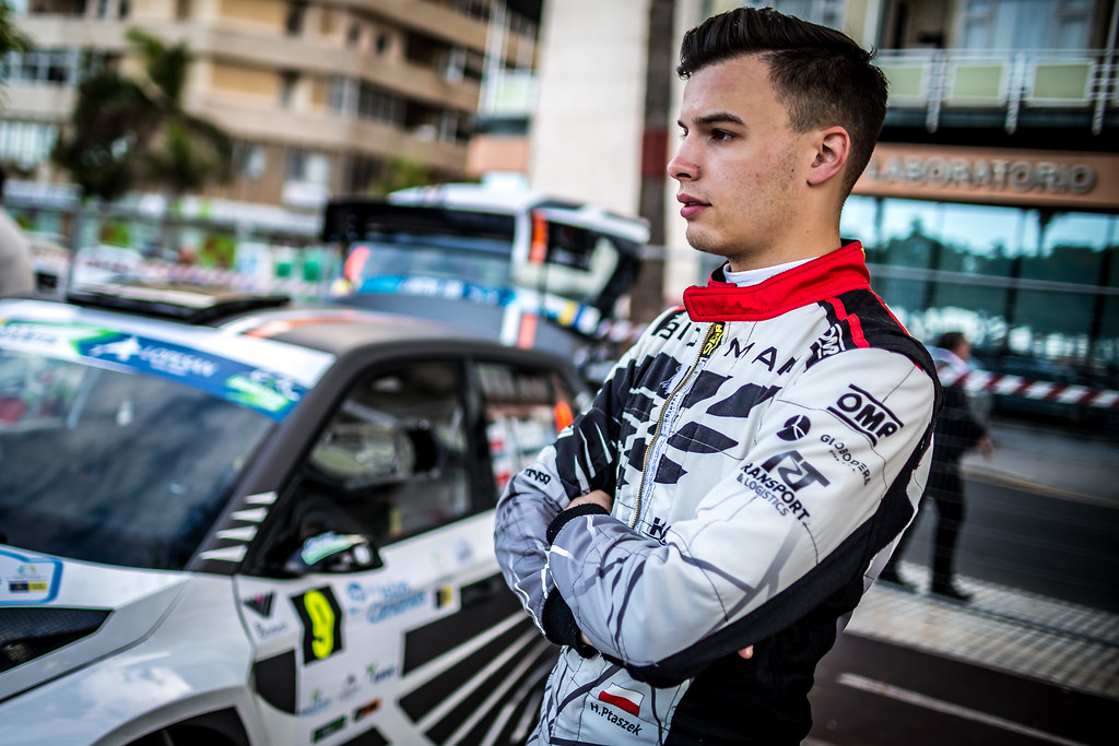PTASZEK Hubert (pol), SKODA FABIA R5, portrait during the 2018 European Rally Championship ERC Rally Islas Canarias, El Corte Inglés,  from May 3 to 5, at Las Palmas, Spain - Photo Thomas Fenetre / DPPI
