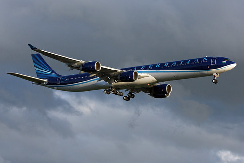 Azerbaijan Government A340-600 | by Wiggy66