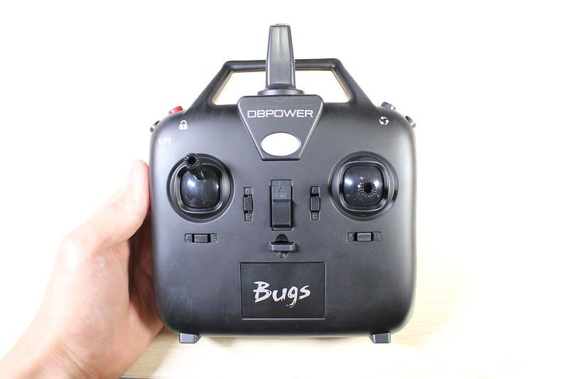 DROCON Bugs6 レーシングドローン 開封レビュー (34)