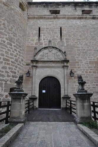 Canena (Jaén-España). Castillo de los marqueses de Camarasa. Portada