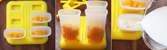 How to make mango coconut milk popsicles recipe - Step4