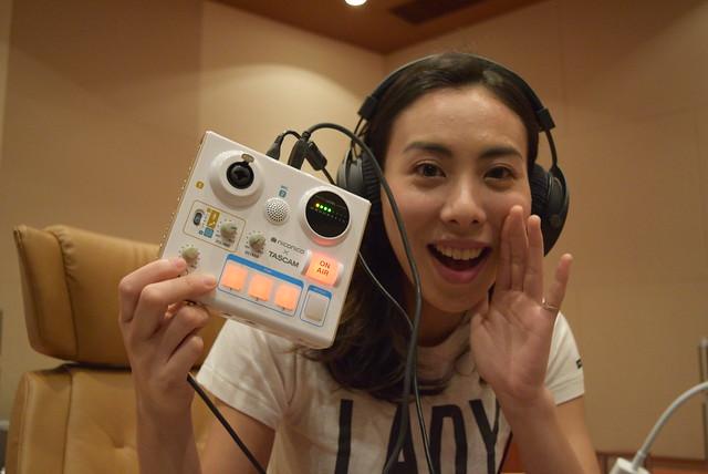音楽ライブの生放送はスマホとMiNiSTUDIOで完結!?LOVEさんに聞くネット配信高音質化テクニック