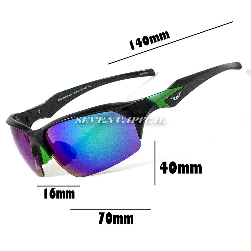 3c81ea1e7a Mens Retro Outdoor Sport Wrap Driving Cycling Fishing Golfing Running  Sunglasses